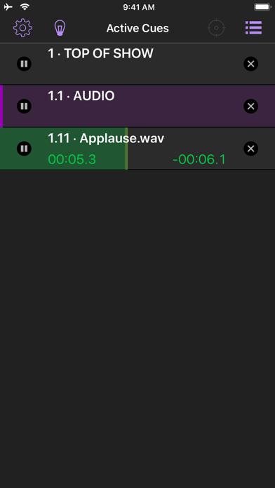 QLab Remote screenshot three