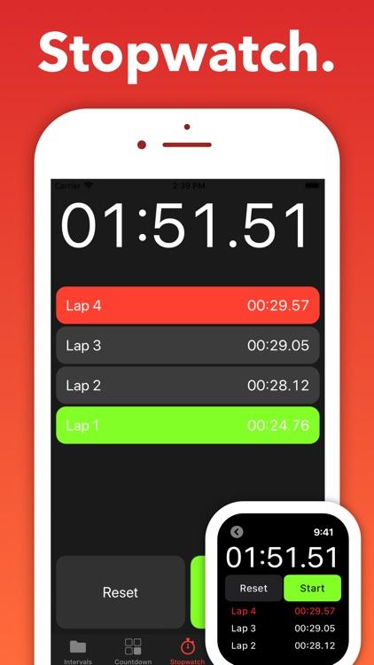 Seconds Pro Interval Timer