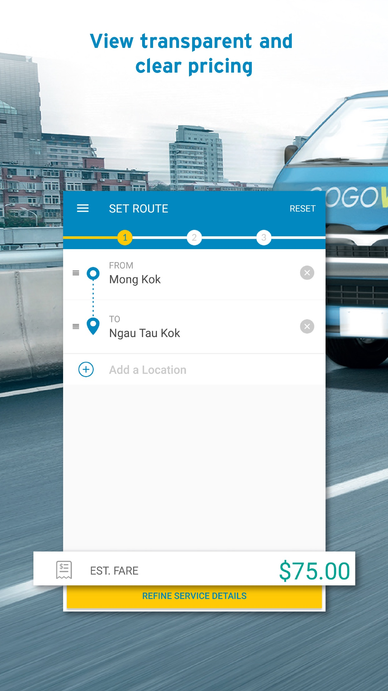 GOGOVAN – Your Delivery App Screenshot