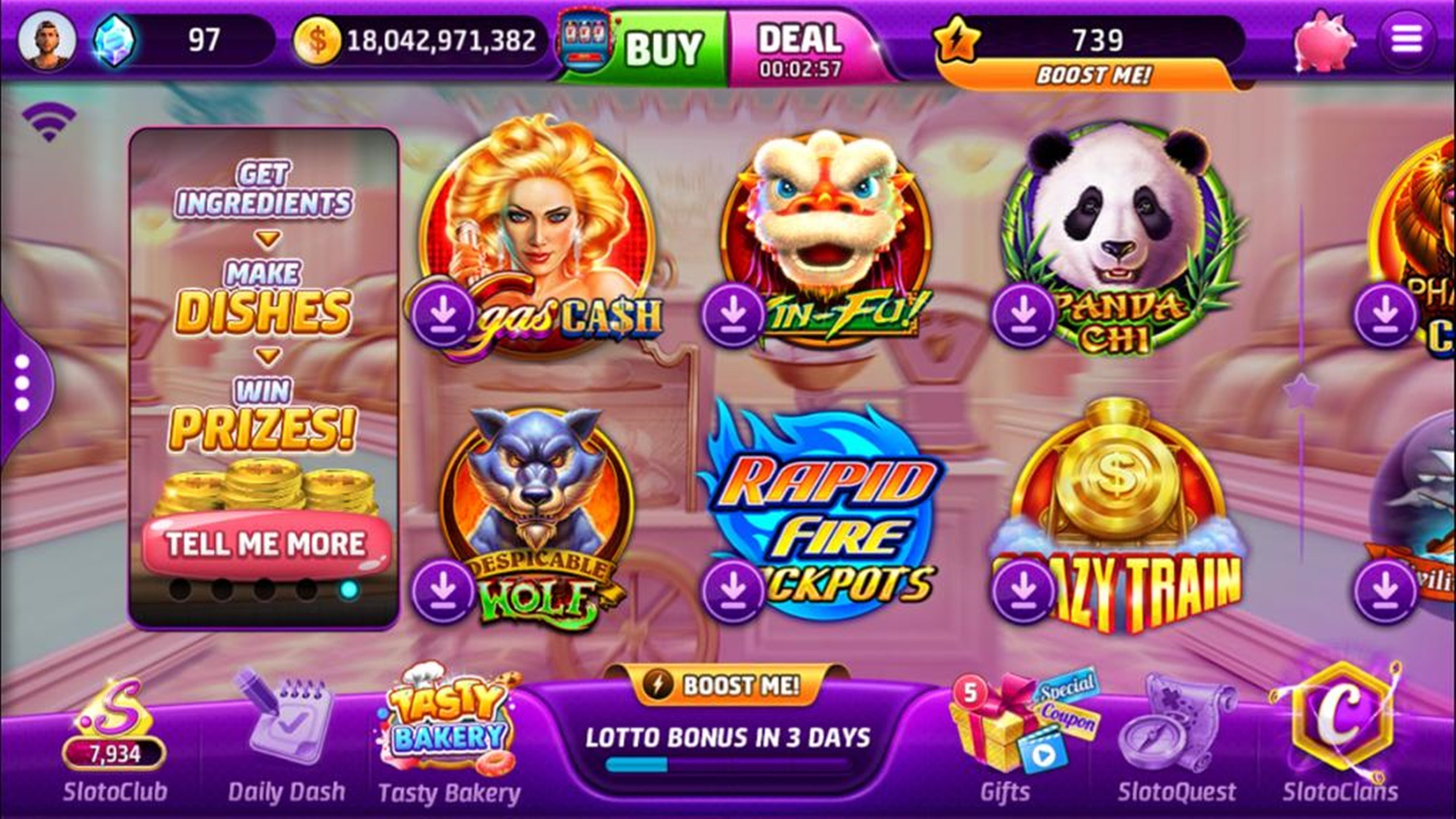Slotomania™ Vegas Casino Slots Screenshot