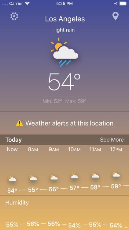 The Weather Forecast App screenshot-4