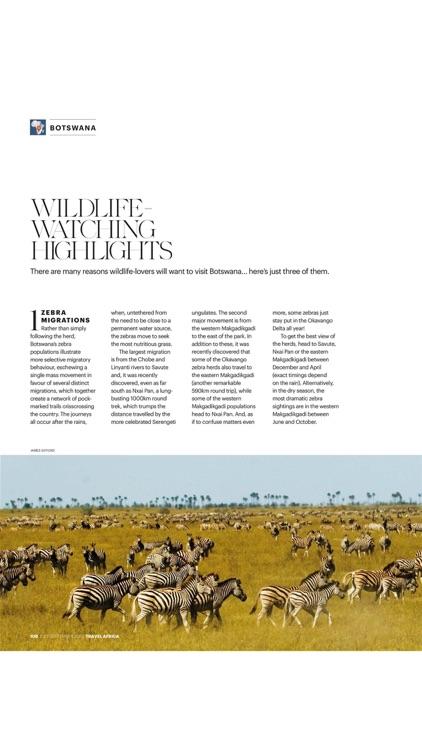 Travel Africa Magazine screenshot-8
