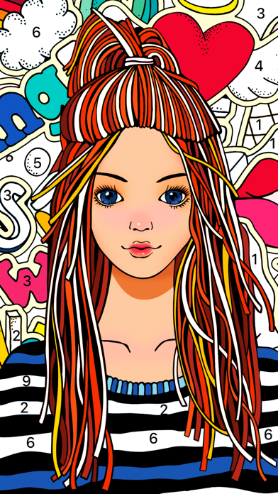 Color Fun - Color by Number screenshot 3