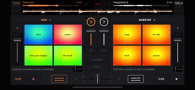 edjing Mix - dj app on the App Store