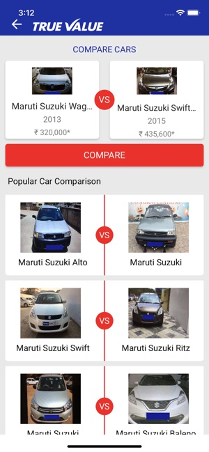 MARUTI SUZUKI TRUE VALUE on the App Store