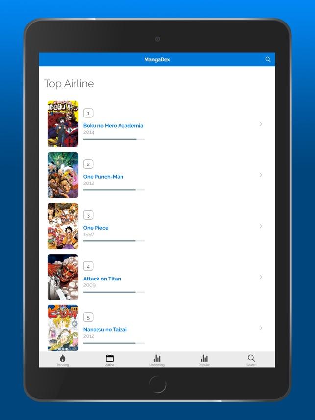 foto de MangaDex - Online Manga Reader on the App Store