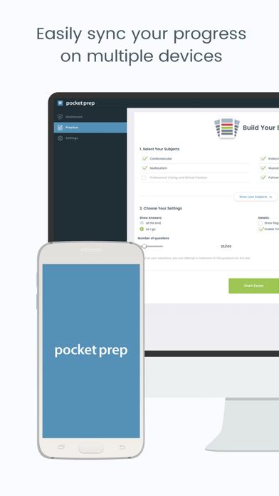 NPTE-PTA Pocket Prep Screenshot
