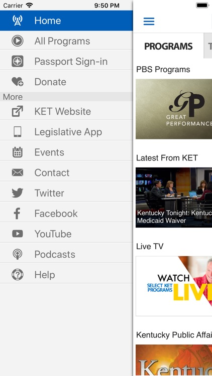 KET - Videos & Schedules