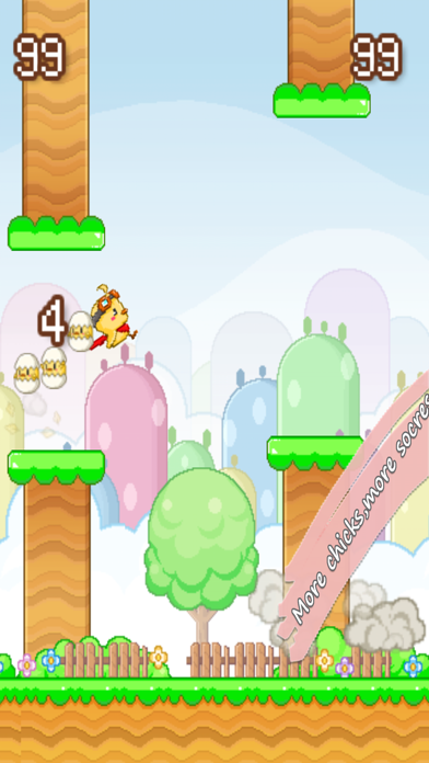 Snappy Chicks : Flappy Friends screenshot four
