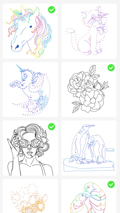 Dot to Dot to Coloring