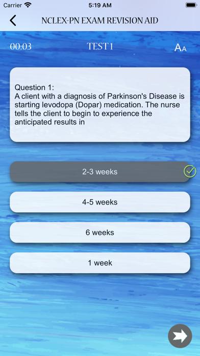 NCLEX - PN Exam Revision Aid screenshot 8