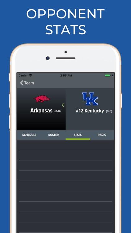 Kentucky Football Schedules screenshot-7