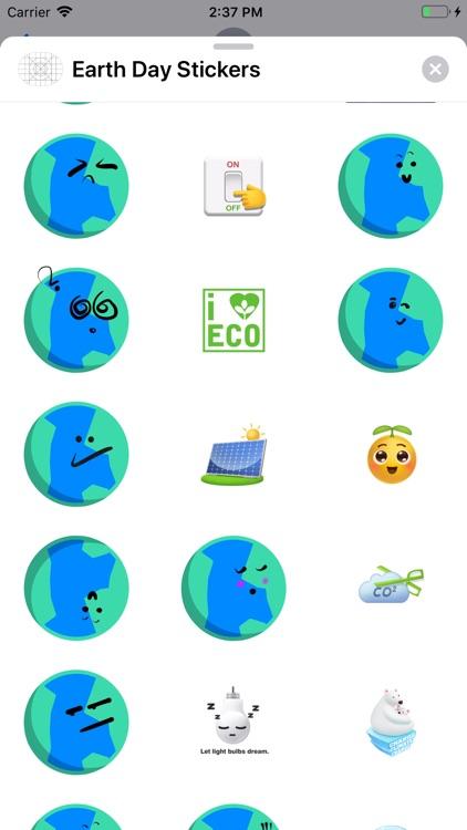 Earth Day Sticker screenshot-3