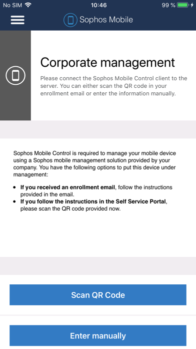 Sophos Mobile Controlのスクリーンショット5