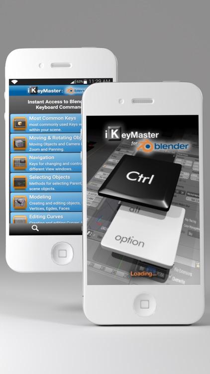 iKeyMaster:Blender3D