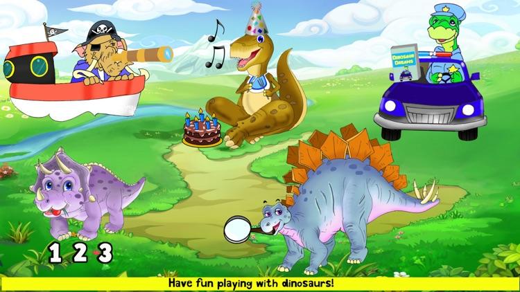 Dinosaur Puzzles Toddler Kids screenshot-8
