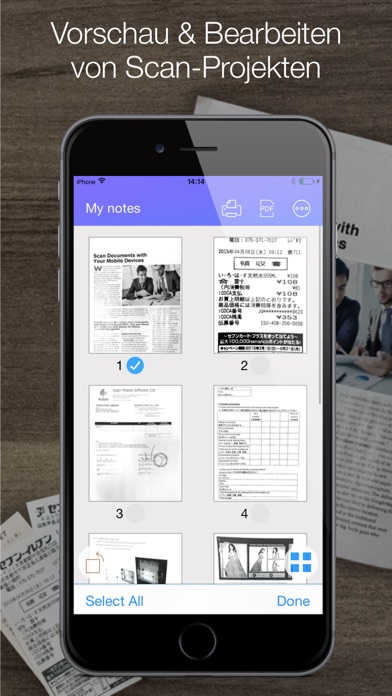 Screenshot for Pocket Scanner Ultimate in Austria App Store