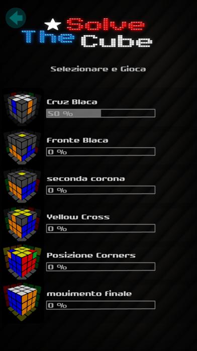 Screenshot of Risolvere il cubo2