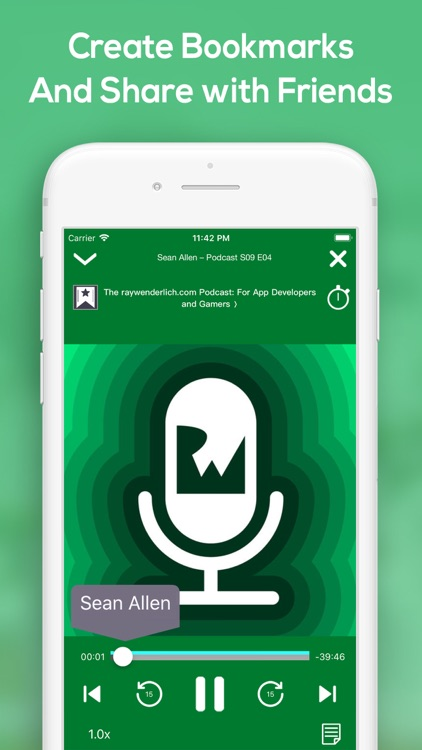 HiCast: RSS Podcast Player screenshot-5