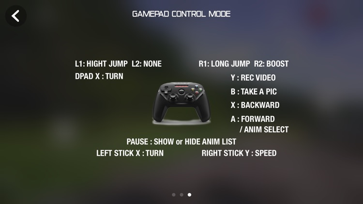Game Controller Jumping Race