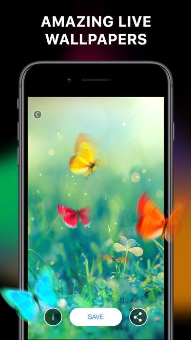 Screenshot #2 pour Live Wallpapers & Lockscreens