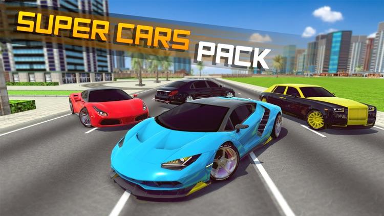 City Car Driving School Sim 3D screenshot-5