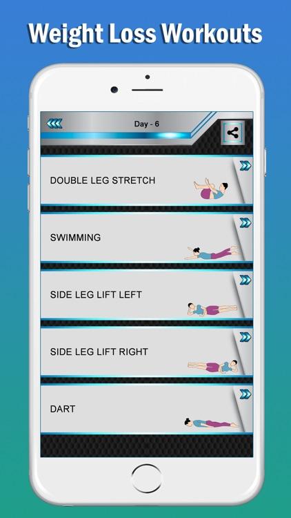Pilates Fitness Yoga Workouts screenshot-5