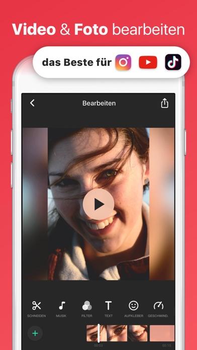 Screenshot for InShot- Video-Editor & Foto in Germany App Store