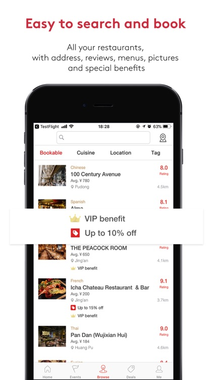 DiningCity - Restaurant guide screenshot-4