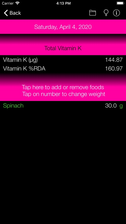 Vitamin K Counter & Tracker screenshot-6