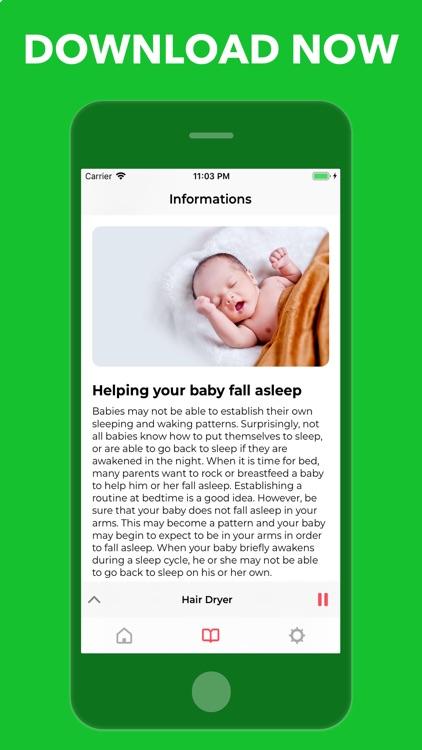 Pacifr: Baby Sleep White Noise screenshot-3
