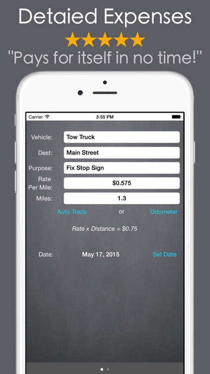 Mileage Expense Log Tracker :) screenshot-3