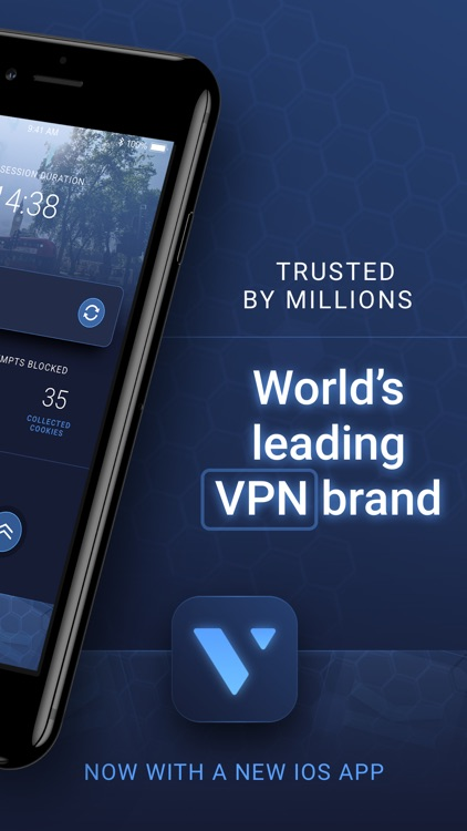 VPN+ WiFi Super VPN for iPhone screenshot-1