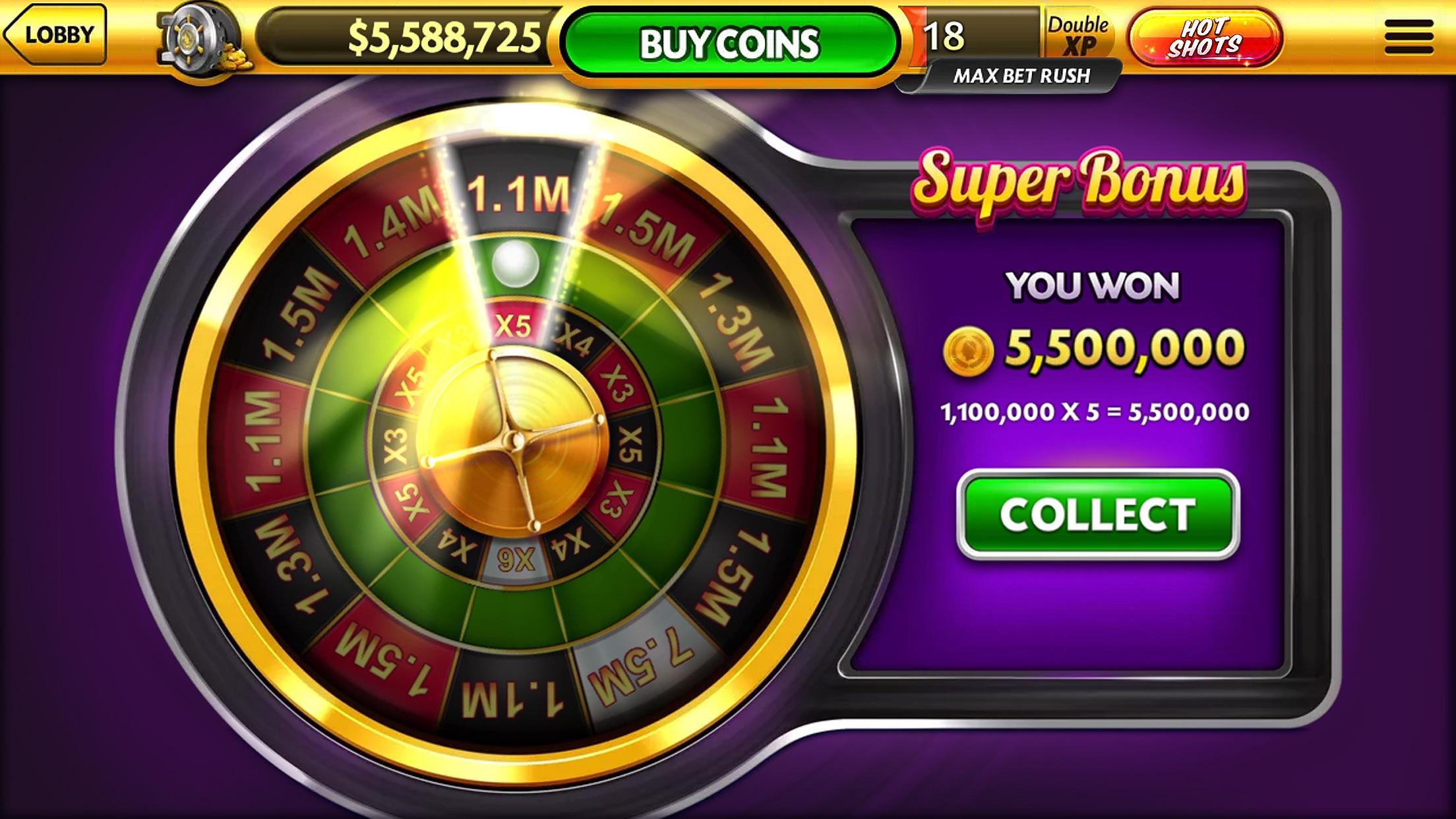 Caesars Casino Official Slots Screenshot
