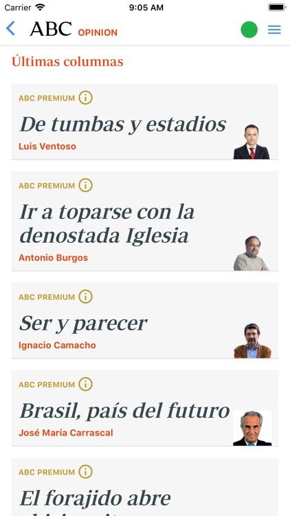 Diario ABC: Noticias España screenshot-3
