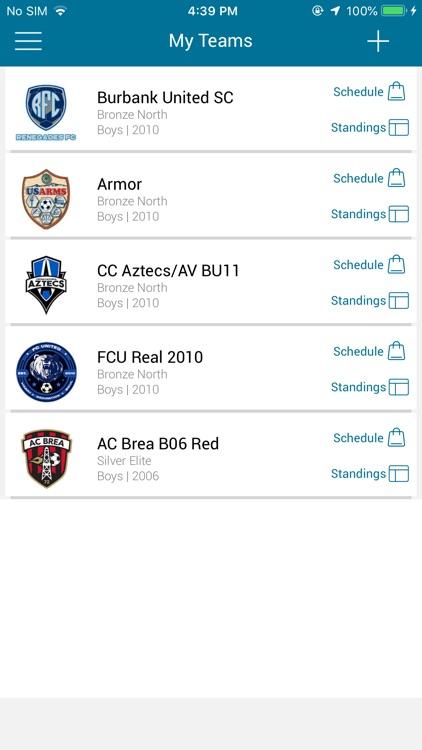 CSL Coast Soccer League screenshot-4
