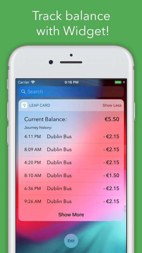 Leap Card App 截图