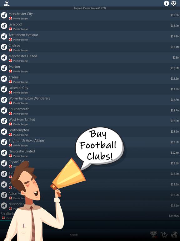 Idle Football Tycoon screenshot 8