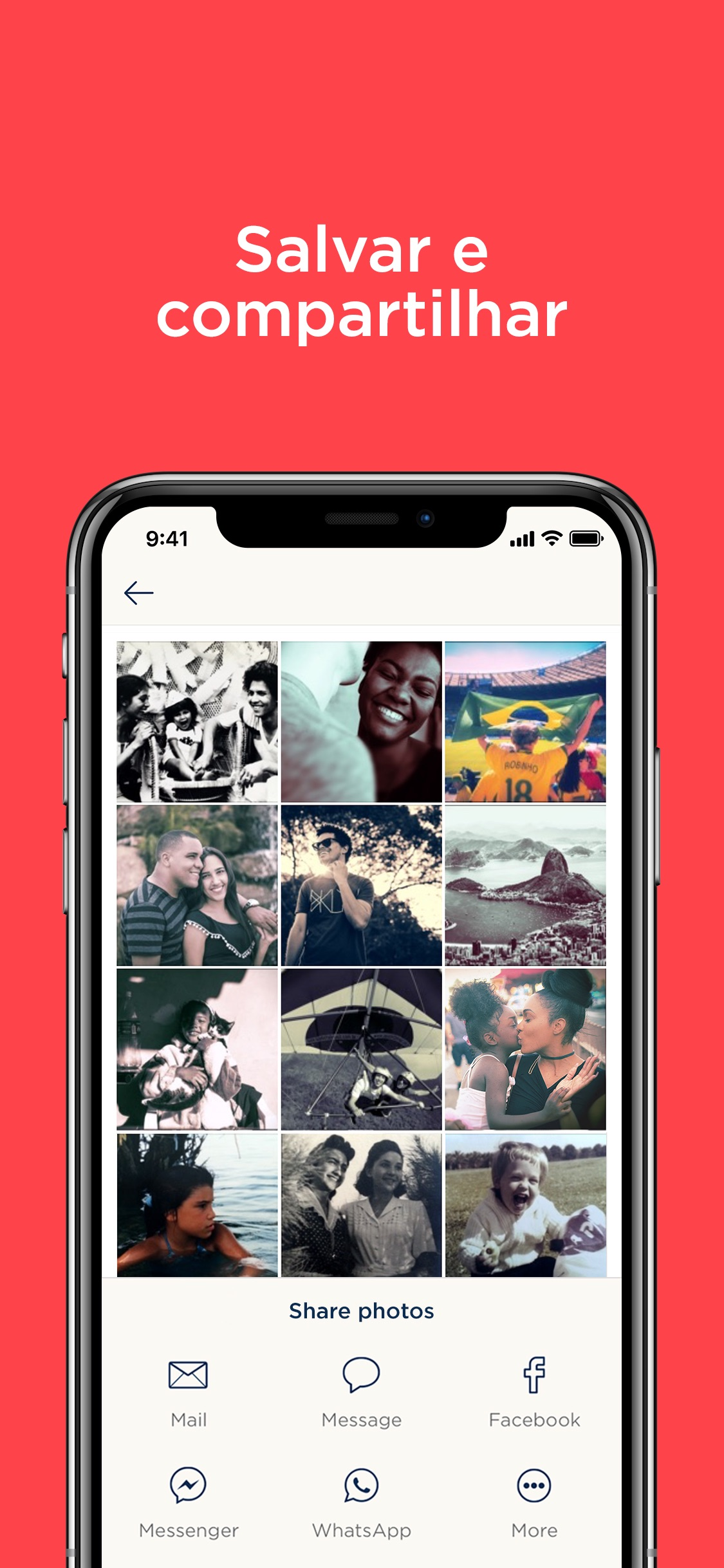 Screenshot do app Digitalizador de Fotos Plus