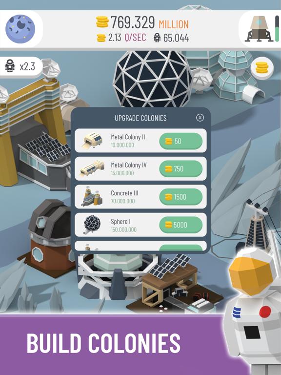 Space Colony: Idle screenshot 3