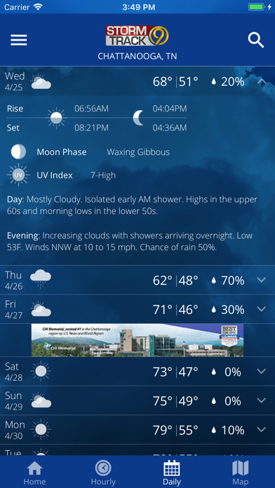 WTVC Storm Track 9 for Pc - Download free Weather app