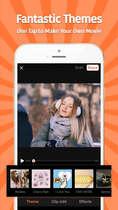 VivaVideo - Best Video Editor Screenshot