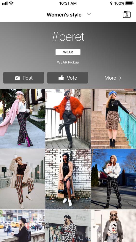 WEAR , Fashion Lookbook App for iPhone , Free Download WEAR