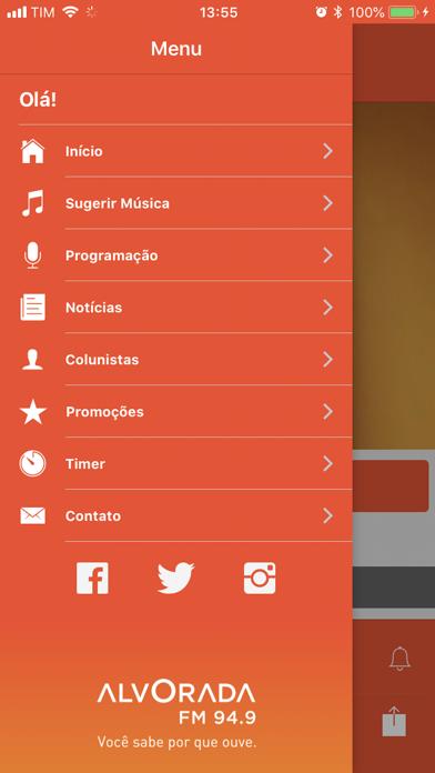 Rádio Alvorada FM | BH screenshot two