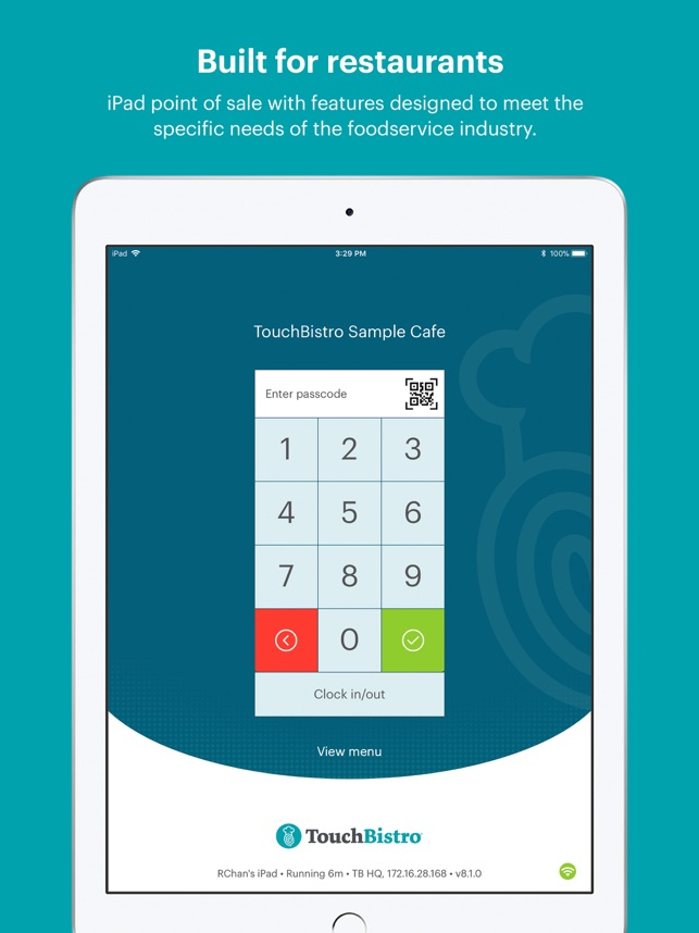 TouchBistro Point of Sale on the App Store