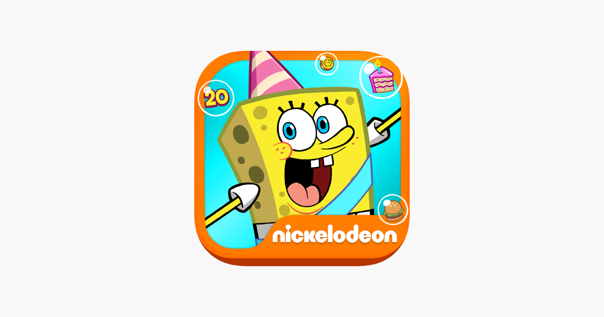 SpongeBob Moves In on the App Store