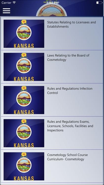 Kansas Board of Cosmetology