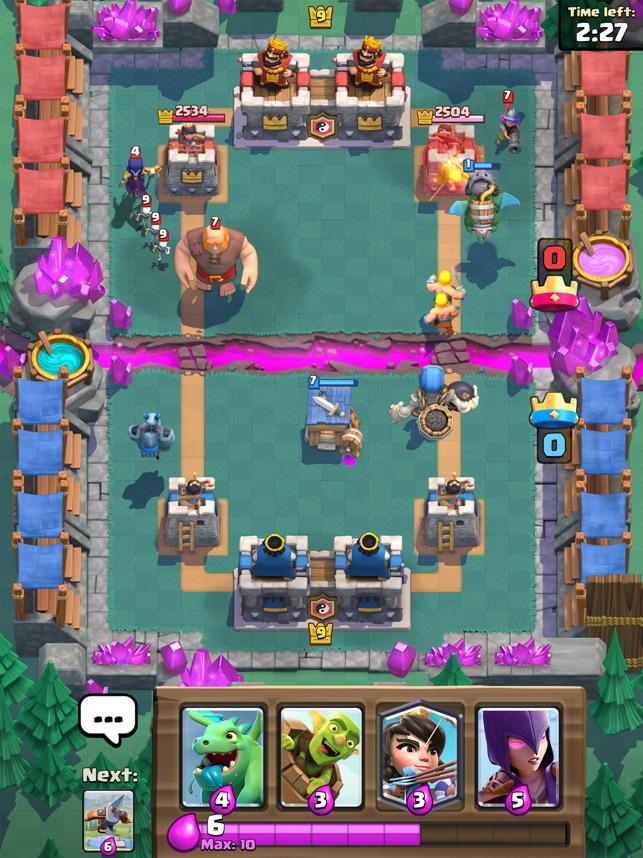 Présentation du jeu Clash Royale