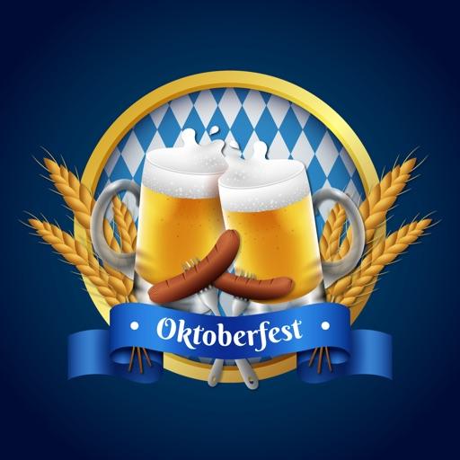 Oktoberfest Festival Stickers