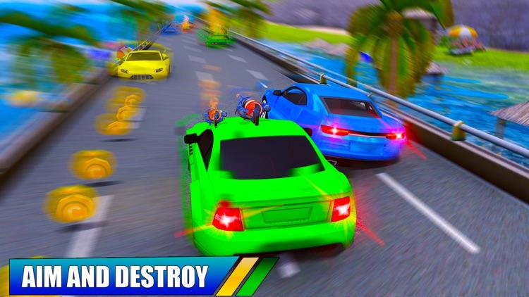 Car Shooting Game:Battle Crash screenshot-4